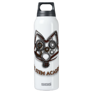 FVL STEM Academy Steampunk Foxhead 16 Oz Insulated SIGG Thermos Water Bottle