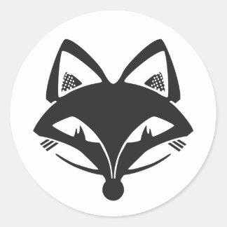 FVLHS Foxhead Round Sticker