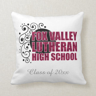 FVLHS Swirl Throw Cushion