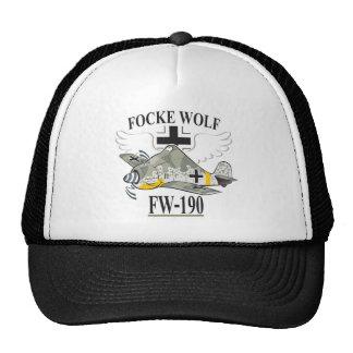 fw-190 focke wolf trucker hats