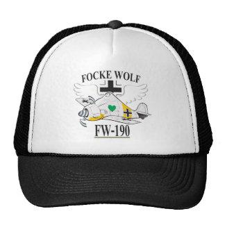 fw-190 focke wolf mesh hats