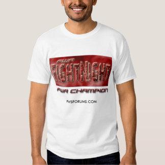 FWA World Championship Match T Shirt
