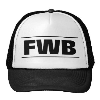 FWB trucker hat | Meaning Friends with benefits