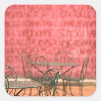 FWI, Guadaloupe, Grande Terre, Pointe a Pitre: Square Sticker