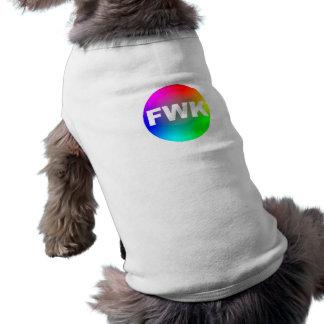 fwk dog or cat shirt sleeveless dog shirt