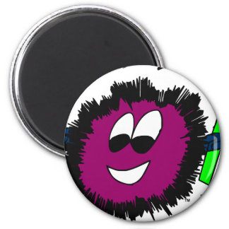 FWLogo-final-color-Zazzle 6 Cm Round Magnet