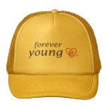 FY solid-colour cap Hats