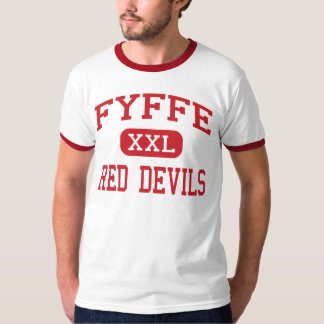 Fyffe - Red Devils - High School - Fyffe Alabama T-Shirt