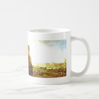 Fyodor Alekseyev-The Admiralty & the Winter Palace Classic White Coffee Mug
