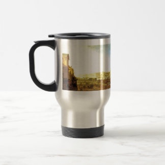 Fyodor Alekseyev-The Admiralty & the Winter Palace Stainless Steel Travel Mug