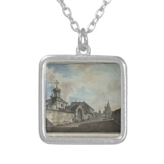 Fyodor Alekseyev- View from the Lubyanka square Necklaces