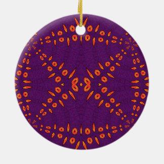 Fyre Trybe Round Ceramic Decoration