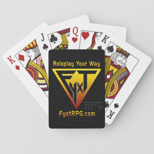 Fyxt RPG Playing Cards