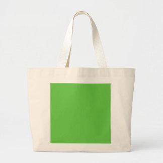 G10 Peacefully Creative Green Color Jumbo Tote Bag