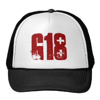 G18 Skullcap Trucker Hat