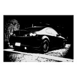G35 Rear View Parking Structure shot Poster