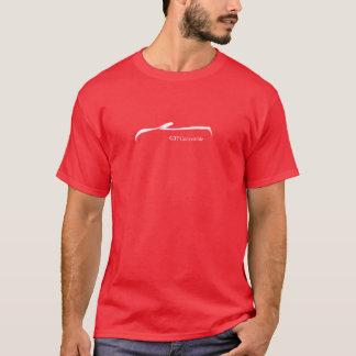 G37 Convertible White Brush Stroke Logo. T-Shirt
