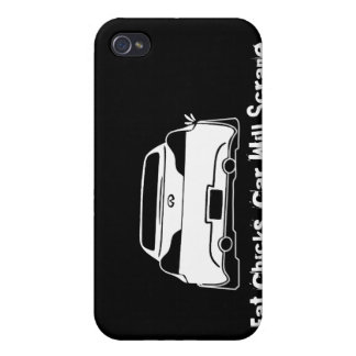 G37 No Fat Chicks Case For iPhone 4