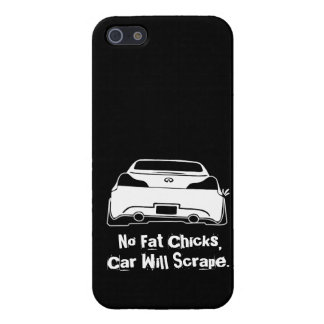 G37 No Fat Chicks iPhone 5 Cover