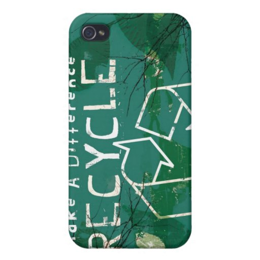 G4 Recycle  Cover For iPhone 4
