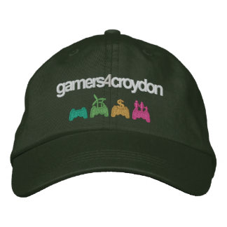 G4C Logo Cap, Dark Embroidered Hat