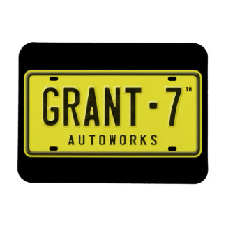 G7 Logo Magnet