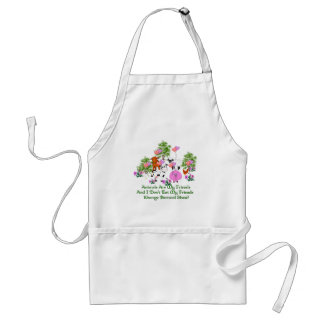 G. B. Shaw Vegetarian Quote Standard Apron