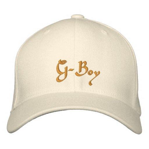 G-Boy Embroidered Baseball Caps