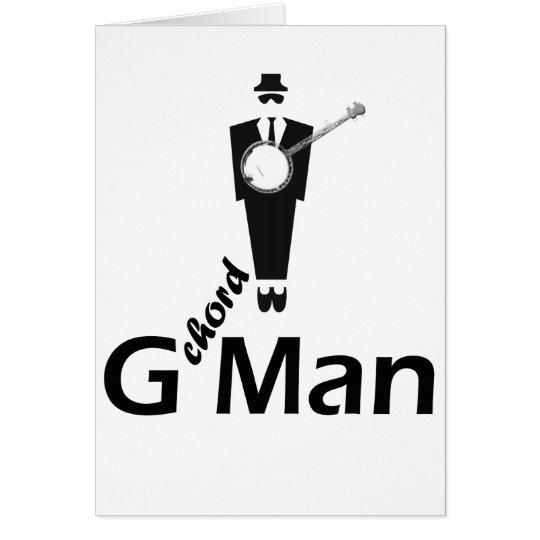 G chord Man Card