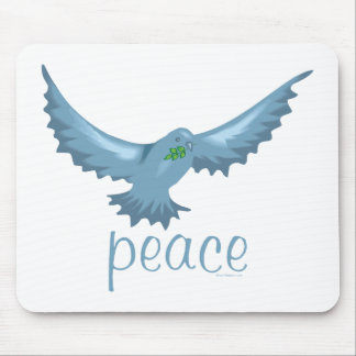 G - Dove of Peace Mousepads
