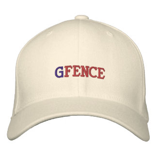 G FENCE EMBROIDERED BASEBALL CAPS