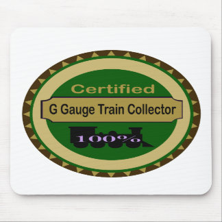 G Gauge Train Collector Mousepad
