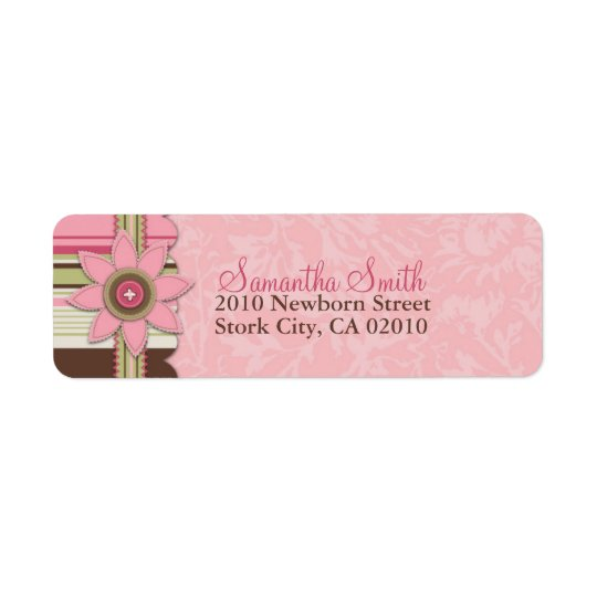 G Girl Return Label Return Address Label