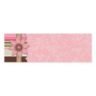 G Girl Skinny Gift Tag Pack Of Skinny Business Cards