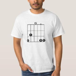 G GUITAR CHORD Value T-Shirt