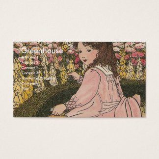 G is For Garden Business Card
