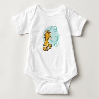 G is for Giraffe Baby Bodysuit