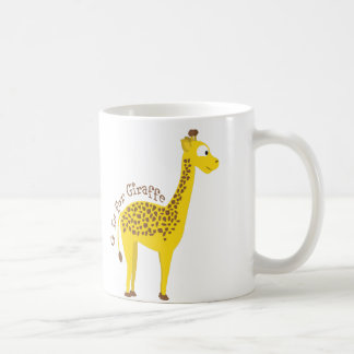 G is for Giraffe Coffee Mug