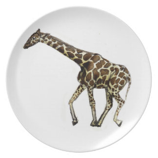 G is for Giraffe Party Plates