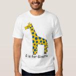 G is for Giraffe Shirt