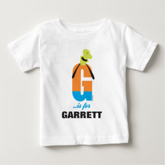 G is for Goofy | Add Your Name 2 Baby T-Shirt
