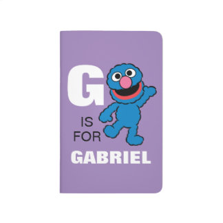 G is for Grover | Add Your Name Journal