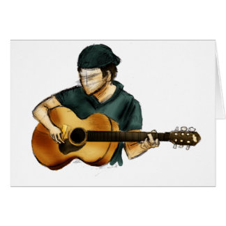 G is for Guitar Greeting Card