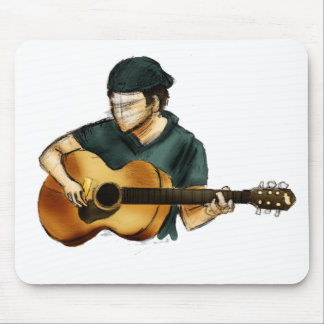 G is for Guitar Mouse Pad