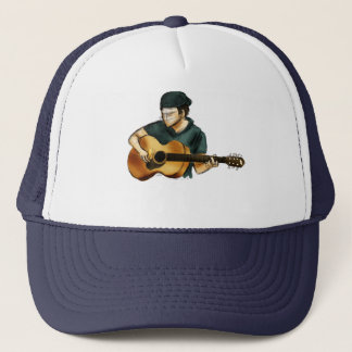 G is for Guitar Trucker Hat