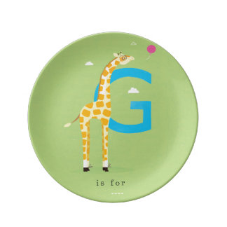 G is for... plate
