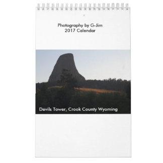 G-Jim Photography 2017 Calendar
