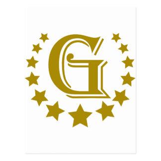 G-Letter-Stars-Crown- Postcard