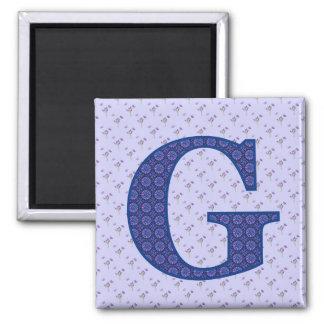 G REFRIGERATOR MAGNET