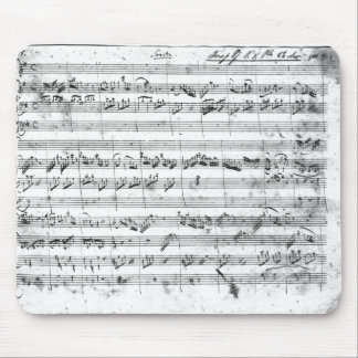 G major for violin, harpsichord and violoncello 2 mouse mat